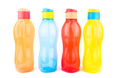 разливает цветастое по бутылкам Стоковое Изображение RF