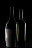 разливает центральное стекло по бутылкам фокуса dof отмелое Стоковое Изображение RF