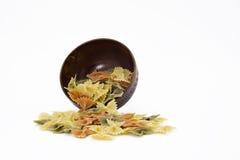 Разлитый шар макаронных изделий Стоковое Фото