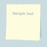 Различная белая бумага примечания Стоковые Изображения RF