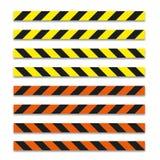 Различная иллюстрация опасности ленты с тенью Стоковые Фото