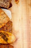 Различная рамка хлеба Стоковое Изображение RF