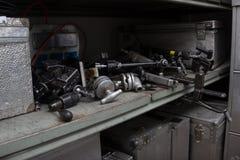 Различное видео- освещение и удерживающее приспособление при разрыве троса Стоковая Фотография RF