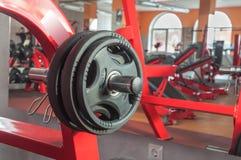 Различное оборудование спортзала Стоковая Фотография