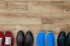 Различное собрание ботинок Стоковые Фотографии RF