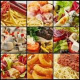 Различное собрание еды Стоковые Фото