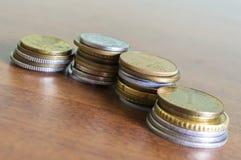 Различное собрание монеток Стоковое фото RF