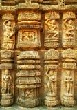 Различное passtime королевской индийской семьи Стоковое Изображение RF