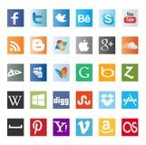 Различные бирки /icons продаж Стоковое Изображение RF