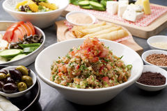 Различные ливанские плиты Стоковая Фотография RF