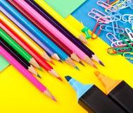 Различные инструменты офиса Стоковое Фото