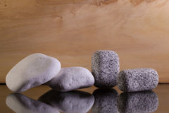 Различные камни известки и гранита Стоковая Фотография RF