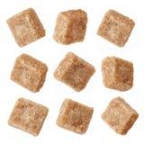 Различные кубики желтого сахарного песка стоковое фото rf