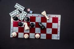 Различные настольные игры Стоковая Фотография