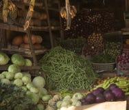 Различные овощи на рынке в Азии Шри-Ланка Стоковое Изображение RF
