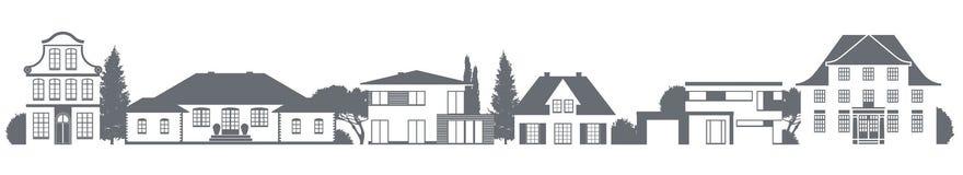 различные дома