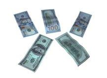 Различные 500 долларов США Стоковые Фотографии RF