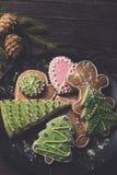 Различные печенья имбиря Стоковое фото RF