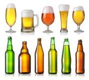 Различные пив стоковая фотография rf