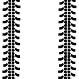 Различные покрышки автомобиля Стоковое Фото