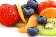 Различные плодоовощи помещенные совместно Стоковое Изображение RF