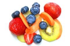 Различные плодоовощи помещенные совместно Стоковое фото RF