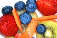 Различные плодоовощи помещенные совместно Стоковые Фотографии RF