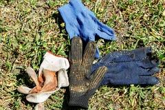 Различные работая перчатки Стоковые Фотографии RF