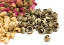 Различные разнообразия чая Стоковая Фотография RF