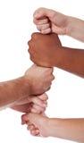 Различные руки Стоковая Фотография RF