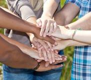 Различные руки Стоковое Фото