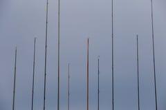 Различные рыболовные удочки Стоковое фото RF