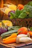 Различные сырцовые овощи Стоковые Фотографии RF