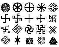 Различные славянские символы Стоковое фото RF
