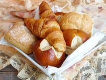 Различные типы хлеба Стоковая Фотография