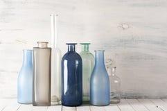 Различные установленные бутылки Стоковая Фотография RF