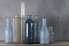 Различные установленные бутылки Стоковое Изображение