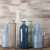 Различные установленные бутылки Стоковые Изображения