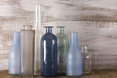 Различные установленные бутылки Стоковое Изображение RF