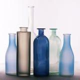 Различные установленные бутылки Стоковые Фотографии RF