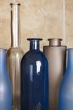 Различные установленные бутылки Стоковые Фото