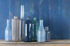 Различные установленные бутылки Стоковые Изображения RF