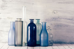 Различные установленные бутылки Стоковое Фото