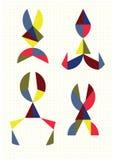 Различные формы ножниц иллюстрация штока