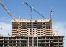 Различные этапы конструкции домов Стоковое Изображение RF