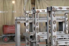 Различные элементы металла structuresAP4U6922 Стоковая Фотография