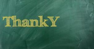 различные языки благодарят вас сток-видео