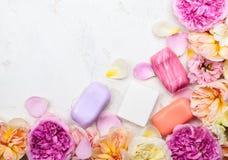 Различный бара мыла Стоковое Изображение