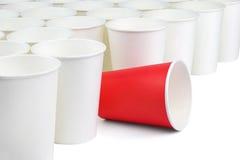 Различный бумажный стаканчик Стоковая Фотография RF