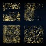 Различный вектор знамен золота Стоковая Фотография
